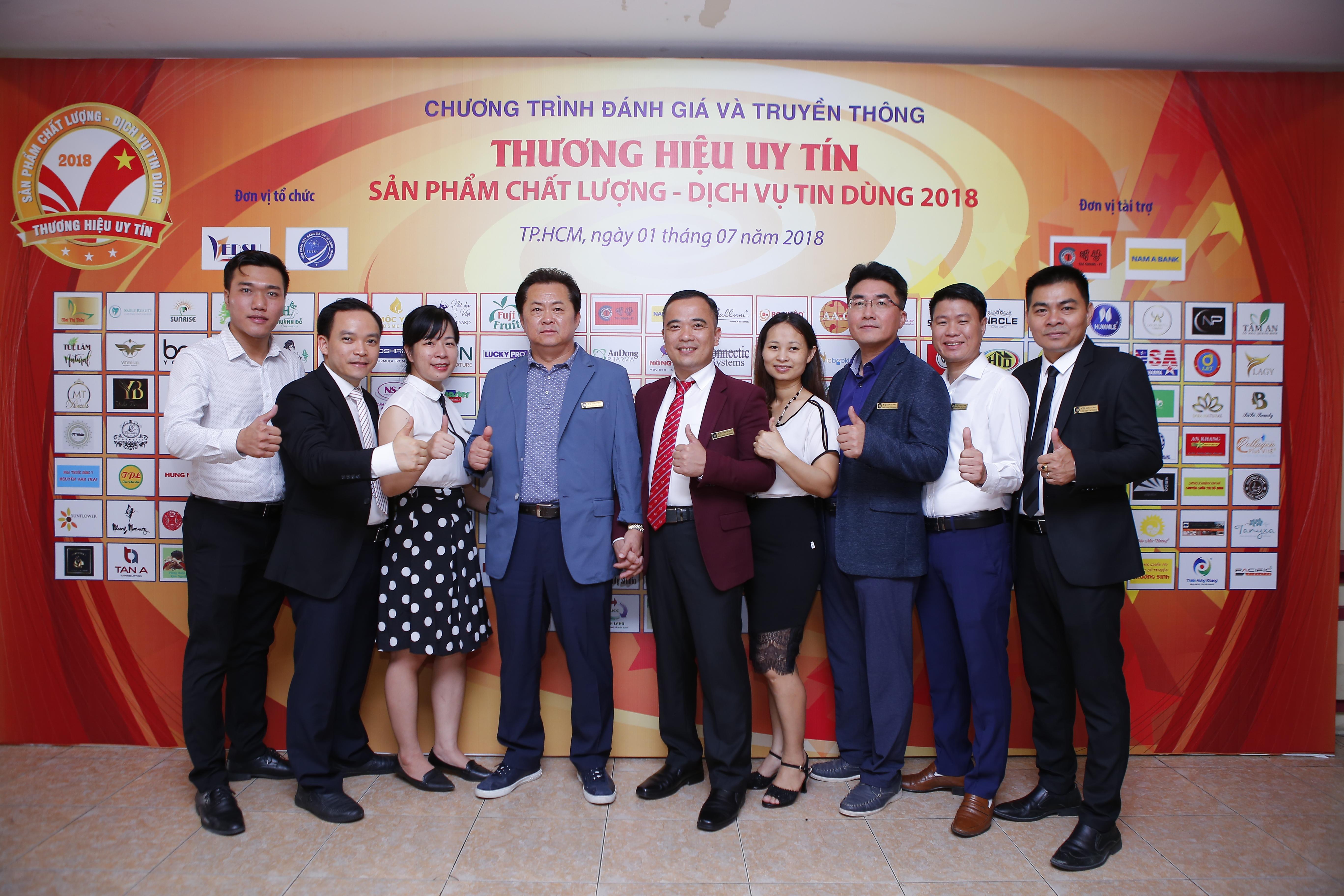 PHỒN THỊNH TAE GWANG- Top 10 Thương Hiệu Uy Tín- Sản Phẩm Chất Lượng- Dịch Vụ Tin Dùng Lần V- Năm 2018