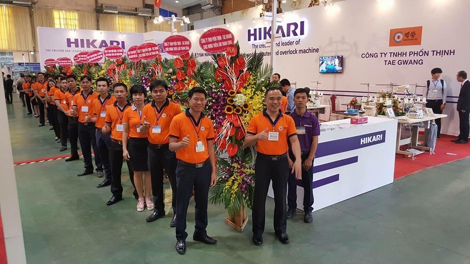 PHỒN THỊNH TAE GWANG - Triển lãm quốc tế ngành công nghiệp Dệt & May - Thiết bị & Nguyên phụ liệu năm 2017 tại Hà Nội